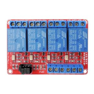 Relay 4-Channel 12v (Active High)