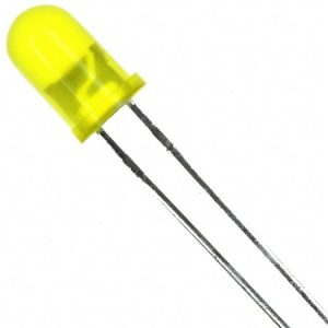 LED Yellow -5Pieces Per Pack
