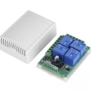 4 Channel Wireless RF Receiver