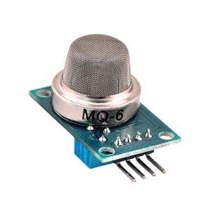 Gas Sensor MQ6 Sensitive LPG Butane Propane Gases