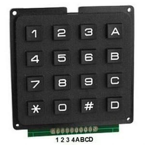 Keypad 4×4