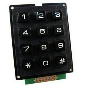 Keypad 3×4