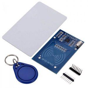 RFID Mifare RC522 Card Reader & Writer Module (13.56MHz) w/ Mifare Card & Keychain Tag