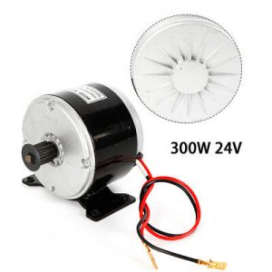 24V 300W Electric Scooter Brush DC Motor