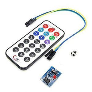 IR Remote Control Module HX1838 Receiver & MCU NEC Code