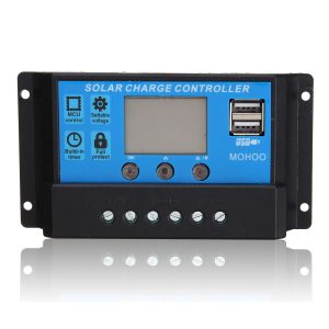 PWM Solar Charge Controller 10A, Light / Time control