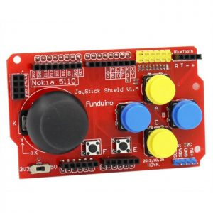 Joystick Shield – Arduino Compatible