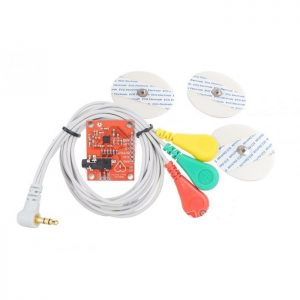 Electrocardiogram Sensor (ECG) Heart Rate Monitor Kit AD8