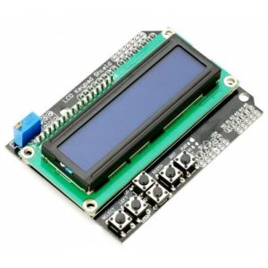 LCD Keypad 16×2 Shield – Arduino Compatible
