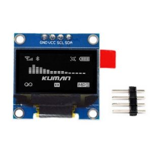 OLED I2C 0.96Inch 128x64px Blue Display