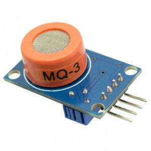 Gas Sensor MQ3 Sensitive Alcohol Gas for Breathalyzer