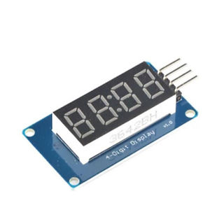4-Digit 7-Segment Display Module TM1637
