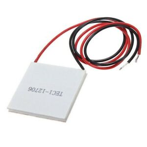 Thermoelectric TEC1-12706 Peltier Plate, Max. 60W 5.8A